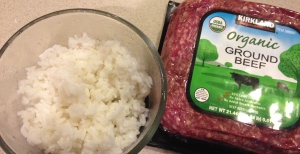 Choose any ground meat you like.
